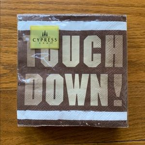 NWT Touchdown Football 🏈 Party Napkins